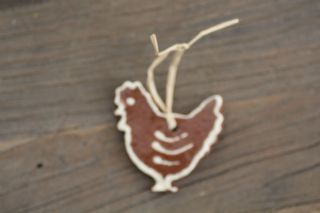 Handmade ceramic decoration (type2) Hen